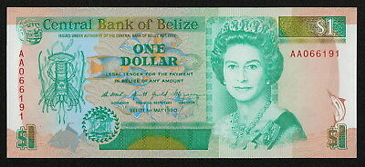 BELIZE (P51) 1 Dollar 1990 UNC