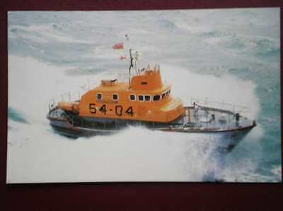 Postcard An Arun Class Self Rightiong Lifeboat