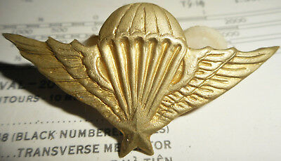 Wings Badge - South Vietnam - Rare - Special Forces Airborne - Vietnam War - 571
