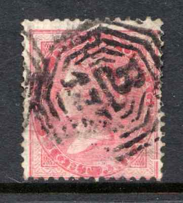 INDIA  used in SINGAPORE  1865 8a  cat. £60