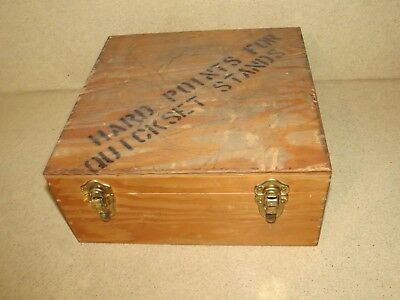 """++ Wood  Equipment  Case Only-  12 3/4"""" X 12 3/4"""" X 5 1/2"""""""