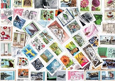 A LOVELY MIX OF MOSTLY RECENT COMMEMORATIVE STAMPS FROM SWEDEN inc HVs
