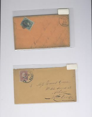 US - 2 Covers Lot # 241