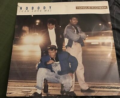 "Tongue In Cheek : Nobody ( Can Love Me ) 3 Mixes . Criminal Records 12"" . VG"
