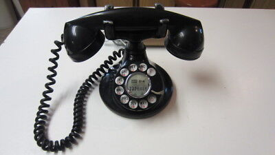 Antique Bell System Western Electric Rotary Bakelite Telephone
