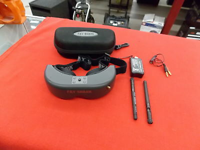 Fat Shark (FatShark) Predator v2 FPV Goggles With Antenna and Battery