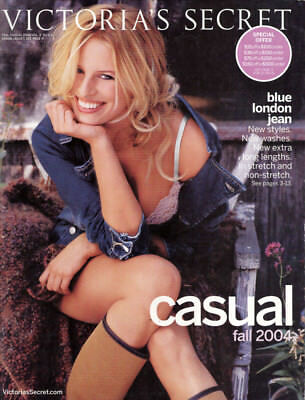 Victoria's Secret Fall Casual 2004->Karolina Kurkova cover