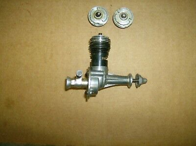 COX THERMAL HOPPER  Model Airplane .049 engine With EXTRA HEADS