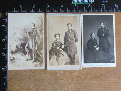 Civil War General McClellan cdv photographs
