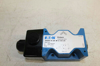 VICKERS DG4V 5 2A M U A6 20 Solenoid Operated Directional Control Valve