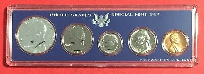 1967 Gorgeous US SILVER Special Mint Set! SMS w/Original Box! Old US Coins!