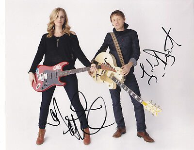 WHITEHORSE SIGNED AUTOGRAPHED Melissa McClelland and Luke Doucet 8X10 PHOTO #2