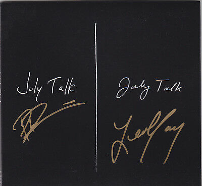 July Talk Signed Autographed Cd Cover  Leah Peter Guns And Ammunition  Proof