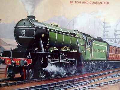 Hornby Train Framed / Glazed Wall Print - Early Box Lid - Pick Up Only Melb S/e