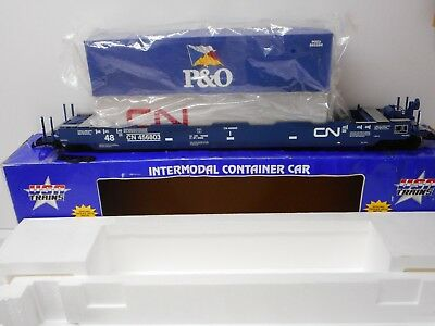 USA Trains R17127 Canadian National Intermodal Articulated Containers G scale