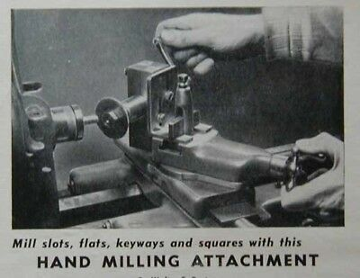 Hand Milling Attachment for Lathe How-To build PLANS