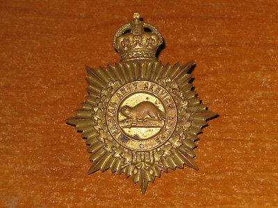 WW1 CEF Canadian Cap Badge Canadian Army Service Corps