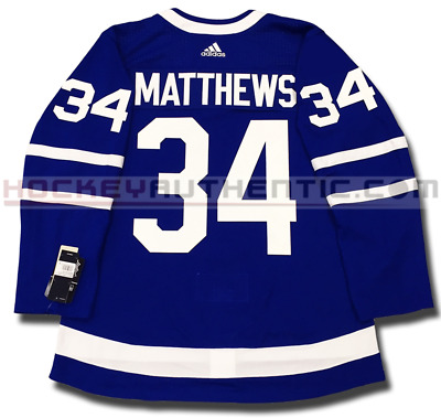 Auston Matthews Toronto Maple Leafs Adidas Home Authentic Pro Adidas Nhl Jersey