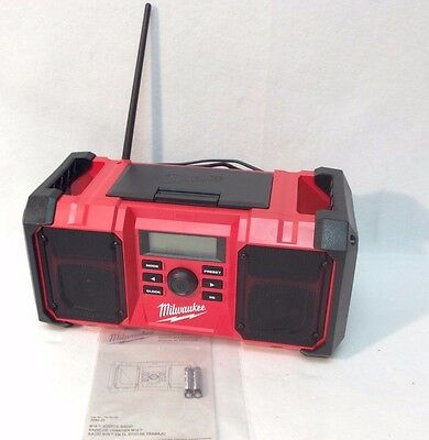 Milwaukee 2890-20 New M18 18-Volt Heavy-Duty Jobsite Radio - Bare Tool