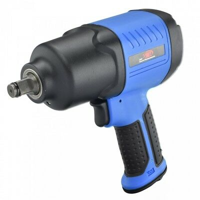 "1/2"" Inch Twin Hammer 450/lb Torque Composite Pneumatic Air Impact Wrench"
