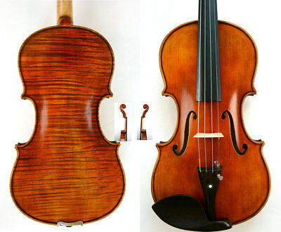 Great Sounding Violin Guarneri del Gesu 1743 Violin Model Amazing Tone#616