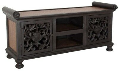 RATTAN KOMMODE BURMA TV KOMMODE SIDEBOARD CHINA MÖBEL ASIA ANTIK 115x50 '8