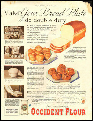 1934 vintage ad for Occident Flour -365