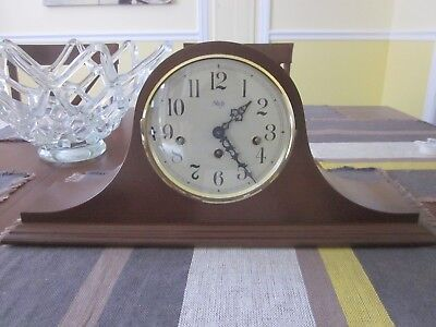 PRE-OWNED Sligh Franz Hermle Mantel Clock 340-020 Made in Germany