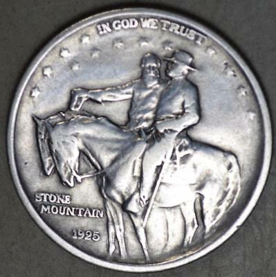 1925 Stone Mountain Commemorative Half Dollar Silver Coin