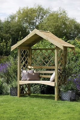 Forest Sienna Wooden Arbour - 5 x 2ft. From the Official Argos Shop on ebay