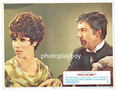 Michele Lee Gives Unpleasant Funnyman Comic Dick Van Dyke Da Boot Movie Lc 1969