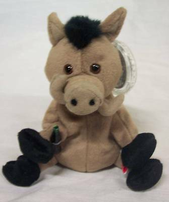 "Coca-Cola COKE Italy LORS THE WILD BOAR 5"" Bean Bag STUFFED ANIMAL Toy NEW"