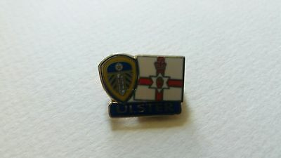Ulster & Leeds United - METAL Badge