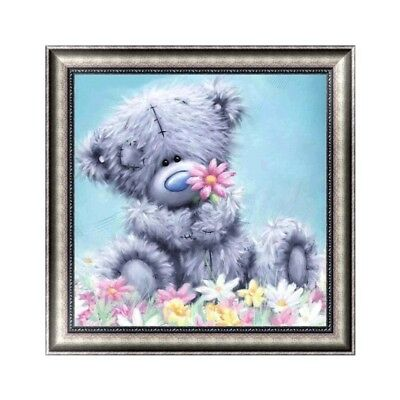 DIY 5D Diamond Embroidery Painting Bear Cross Stitch Craft Home Wall Decor Gift