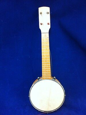Dallas Ukulele Banjo Closed Back No Strings#bux19Jm