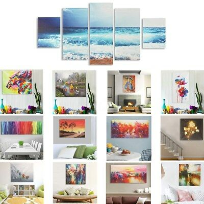Abstract Modern Oil Painting Art Unframed Canvas Print Wall Home Decor Mix-Type