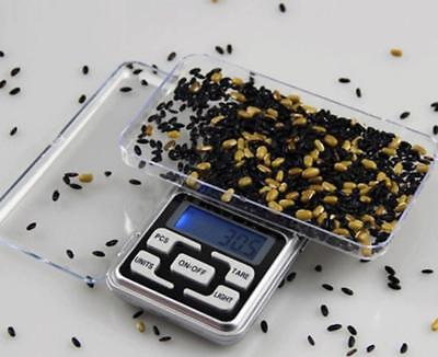 Digital Scale 200g x 0.01g Jewelry Gold Silver Coin Grain Gram Pocket Mini Herb