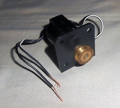 MECCANO 3- 6 Volt MOTOR IN BLACK PLASTIC HOUSING & FITTING AS SHOWN