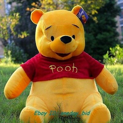 "New Giant Plush Winnie Pooh Bear Doll Toy 100cm/38"" Huge Best Gift Hot Sale"