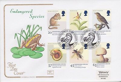 Gb Stamps First Day Cover 1998 Endangered Dodo Rare Pmk Cotswold Collection