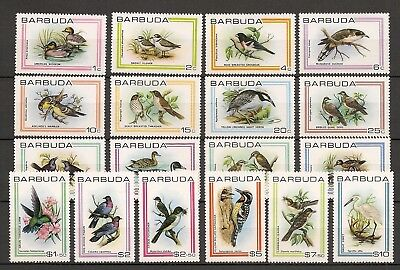 Barbuda 1980 Wildlife Fauna Birds Vögel Oiseaux complete set to $10 MNH