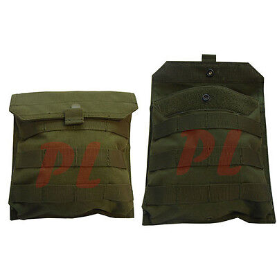 Molle Tactical Utility SIDE Plate POUCH Utility Accessory Pouch Molle Pouch-OD
