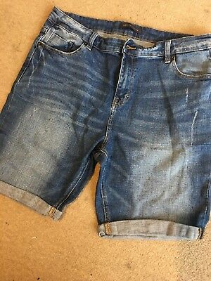 M&s Collection Denim Shorts Size 16 - New No Tags