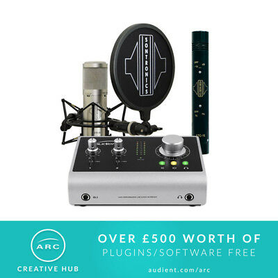 Audient iD14 and Sontronics ST3-X Singer Songwriter Bundle (NEW)