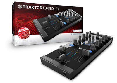 Native Instruments Traktor Kontrol Z1 Mixer Controller with USB Interface (NEW)