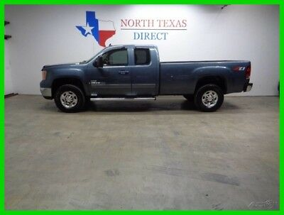 2008 GMC Sierra 2500 SLT 4WD Duramax Ext Cab Leather Heated Seats GPS N 2008 SLT 4WD Duramax Ext Cab Leather Heated Seats GPS N Used Turbo 6.6L V8 32V
