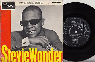 "60s Motown Soul STEVIE WONDER fingertips Mega Rare 1964 UK 7"" Vinyl EP 45"