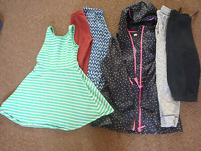 job lot of girls clothing age 8 years