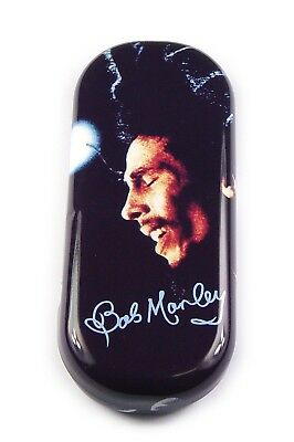 Iconic Bob Marley Metal Glasses Case