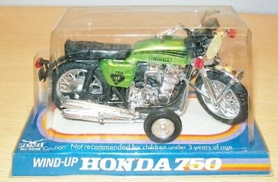 HONDA 750 Motorcycle WIND-UP made in Hong Kong by Petrel MIB